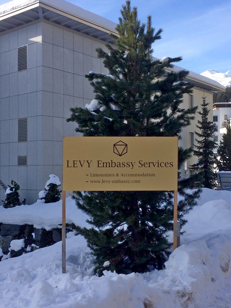 Levy Embassy Services in Davos. Limousine and accommodation services